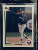 1991 Upper Deck Jeff Bagwell Rookie Card RC #755 Astros