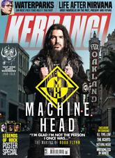 Kerrang! Magazine Jan 2018 MACHINE HEAD Fast Eddie Clarke VILLE VALO Babymetal