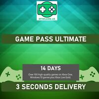 14 DAYS XBOX GAME PASS ULTIMATE & LIVE GOLD - INSTANT 24/7 DELIVERY
