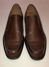 Ecco Brown Leather Windsor Slip On, Dress Shoes Size 41/8M $250 051804011001