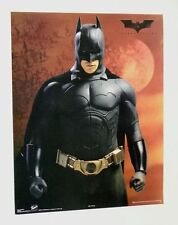 20x16 Christian Bale Batman Begins Dark Knight Payless Shoes movie promo poster