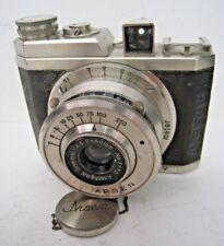 1940's Vintage Japanese Made Camera, Arsen, Gelto, 4×4cm exposure Film 1053