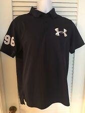Under Armour Golf Polo Shirt - Size M - Blue