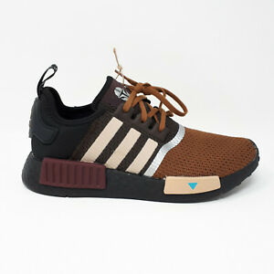 Adidas NMD R1 Junior Star Wars Mandalorian Brown Shoe GZ2745 Big Kids Youth Size