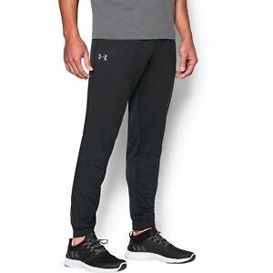 Under Armour Mens Tracksuit Bottoms Gym Joggers Jogging Trousers   Black
