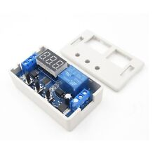 1PCS 12V LED Automation Delay Timer Control Switch Relay Module with case UK