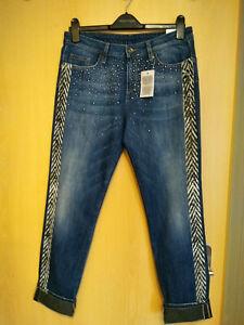 """Neu !!! Jeans-"""" LIU JO"""" Gr. 29 Damenmode-Blau-Glitzer"""