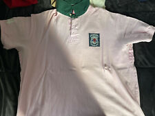 Men POLO Ralph Lauren S/S Polo Shirt Men 4XB Pink Big Tall