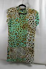 DAVID ISAAC  V-neck Printed Dress Size M                                    3.29