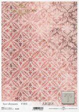 Reispapier-Motiv Strohseide-Decoupage-Serviettentechnik-Vintage-Shabby-19076