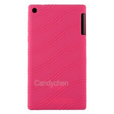 """Silicone Gel TPU Back Case Cover Skin +LCD Film For 7"""" Lenovo Tab2 A7-20F/A7-10F"""