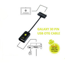 USB OTG cable adaptor for SAMSUNG GALAXY Tab 7 and 10.1 and Note 10.1 Tablets