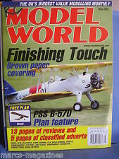 RCMW RC MODEL WORLD MAY 2002 SCOUT PLANS PSS B57D FEATURE MIKE JEYNES TITAN