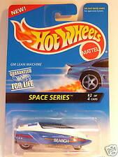 HOT WHEELS BLUE CARD #389 GM LEAN MACHINE SPACE SERIES