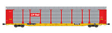 USA Trains G Scale BI LEVEL AUTO CARRIER R17182 CP Rail  red yellow
