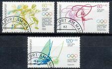 Bundespost 1206 - 1208 gestempeld motief sport