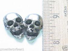 Skull Motorcycle Pin ,  Badge (#499)