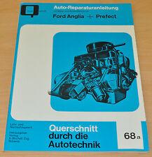 FORD Anglia + Prefect Handbuch Bucheli Reparaturanleitung B68 neu