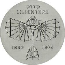 DDR 5 Mark Otto Lilienthal 1973 Stempelglanz Gedenkmünze in Münzkapsel