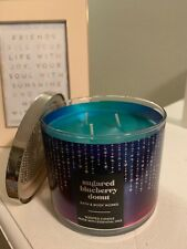 Bath & Body Works: 14.5 Oz 3-Wick Candle: Sugared Blueberry Donut