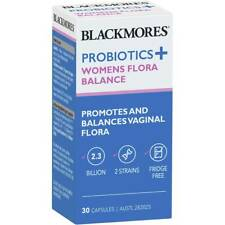 Blackmores Probiotics+ Womens Flora Balance 30 Capsules New
