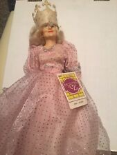 WIZARD of OZ GLINDA DOll Good Witch of North Hamilton 1988 New with tags