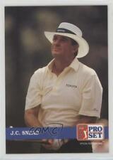 1992 Pro Set Golf JC Snead #216