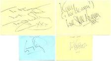 Spandau Ballet + Bucks Fizz signed autograph album pages 1980s British bands