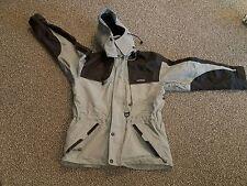 "MINT!!  ""TENSON"" men's snowboard ski hood jacket coat OLIVE/Black Recco Size M/L"