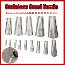 14 Pcs Finisher Caulking Nozzle Kitchen Push Rod Stainless Steel Applicator Tool