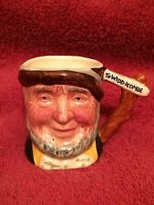 Vintage Miniature Tom Cobleigh Toby Jug by Lancaster and Sandland  Hand Painted