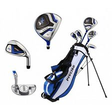 NEW PRECISE JUNIOR RIGHT HANDED AGE 9-12 HYBRID GOLF CLUBS SET W/ STAND BAG