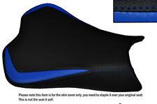 DESIGN 3 R BLUE & BLACK CUSTOM FITS KAWASAKI NINJA ZX6R 636 09-15 SEAT COVER