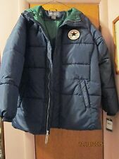 """Converse Hooded Jacket YOUTH Large Unisex NEW w/ tag 18"""" across DISCOUNTED SALE"""