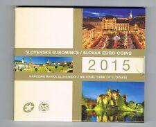Slowakije 2015 BU EURO SET  Slovensko Slovakia Slovaguie SLOWAKEI