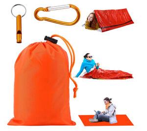 2X Premium Mylar FOIL Emergency Blanket First Aid Sleeping bag Camping Survival