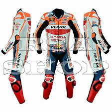 Marc Marquez Honda Repsol MotoGP 2019 HOMMES onepiece Moto Course Cuir Suit