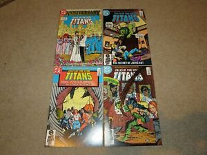 Tales Of The Teen Titans 50th Anniversary #50-53 Lot Comic Books VF/NM 9.0 DC