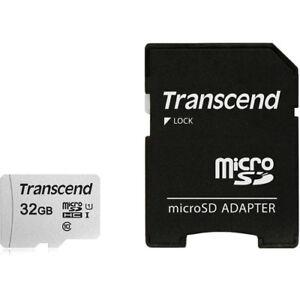 Transcend MicroSD 32GB Memory Card w/ Adapter for GoPro Hero Hero2 Hero3