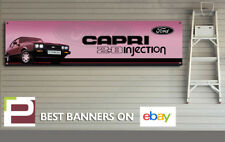 Ford Capri 2.8 Injection Special Banner for Garage, Workshop, Office, Showroom