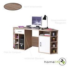 Bürotisch Eckschreibtisch Schreibtisch Eck Winkelschreibtisch Sonoma Eiche