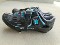 BONTRAGER Inform 'Road Race' Blue, Black & Silver Bike Cycling Shoes Women's 11