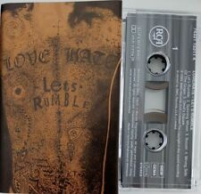 LOVE/HATE Let´s rumble  RARE CASSETTE   HEAVY METAL