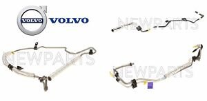 For Volvo S80 V70 XC70 3.2L L6 P/S Power Steering Pressure Hoses Kit Genuine