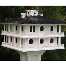 HB Home Bazaar Architectural Large Clubhouse Purple Martin Birdhouse HOMEHB2048L
