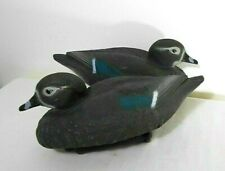 PAIR OF VINTAGE SPORT PLAST,FLOATING  DUCK DECOYS, ITALY