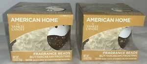 AMERICAN HOME FRAGRANCE BEADS BUTTERCREAM FROSTING 2.6OZ Pack of 2