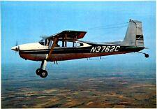 Cartolina Aviazione - Aereo In Volo Cessna 180 H Aircraft Company Wichita,Kansas