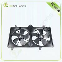 For 02-06 Toyota Camry 02-08 Solara 2.4L Radiator Condenser Black Cooling Fan