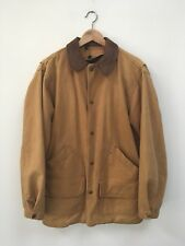 Woolrich Vintage Blanket Lined Cowboy Jacket Canvas Size Small Made In USA